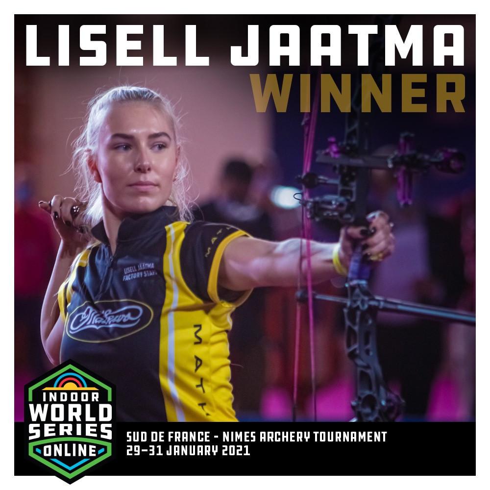 Jäätma beats Estonian rival to retain Sud de France compound archery title