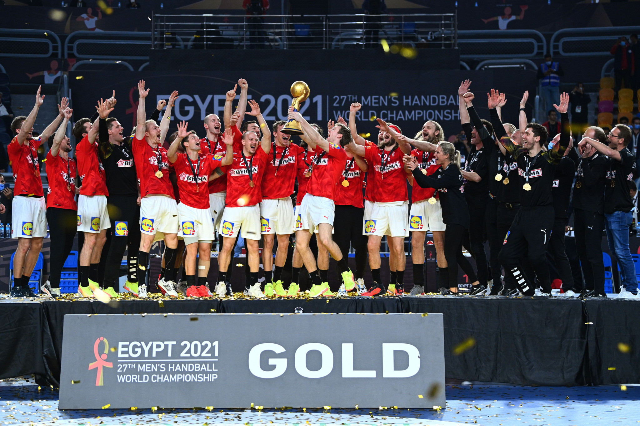 Denmark retain World Men's Handball Championship after edging out Sweden in final