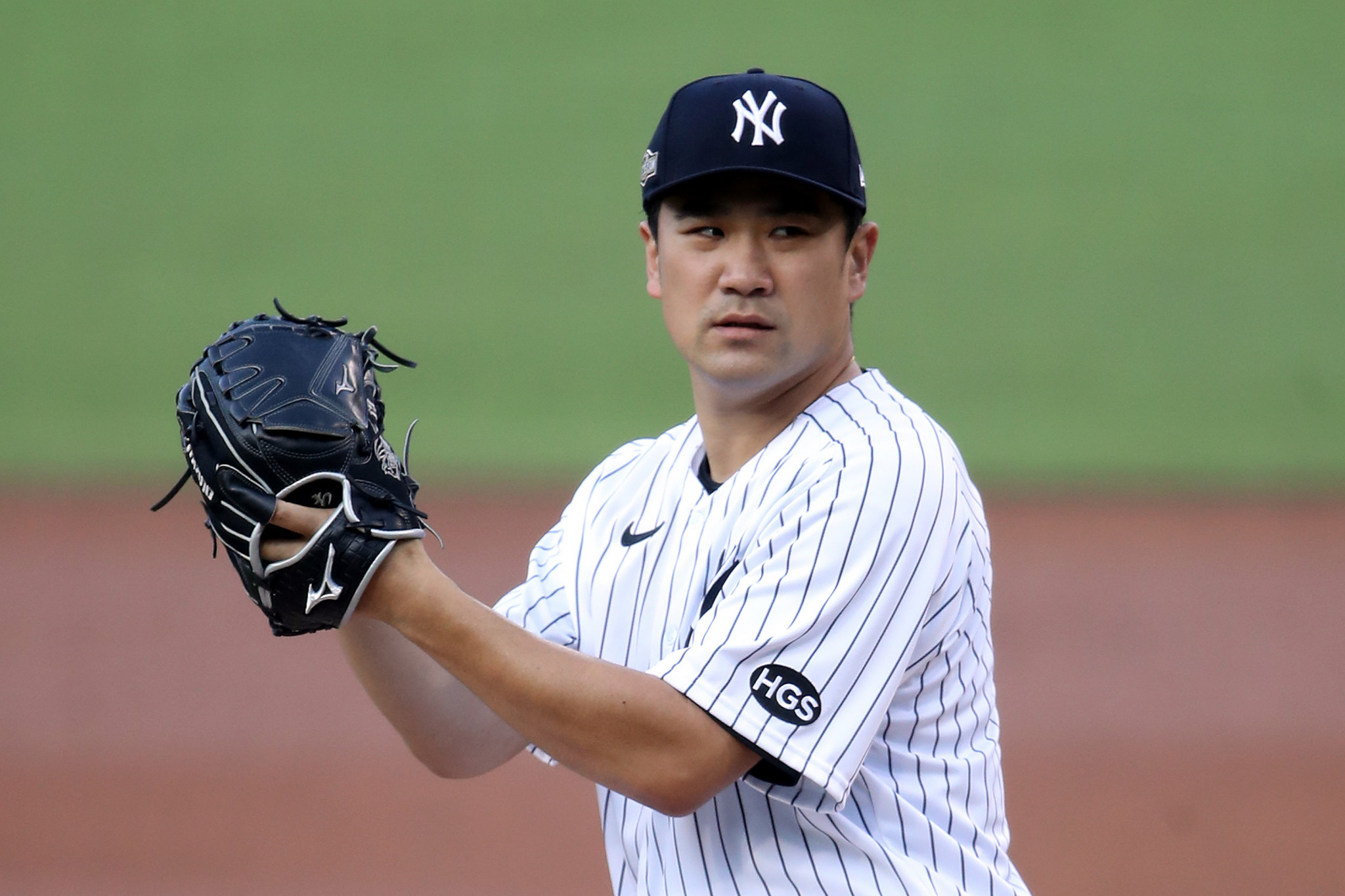 Baseball star Masahiro Tanaka has returned from the United States to play in Japan ©Getty Images