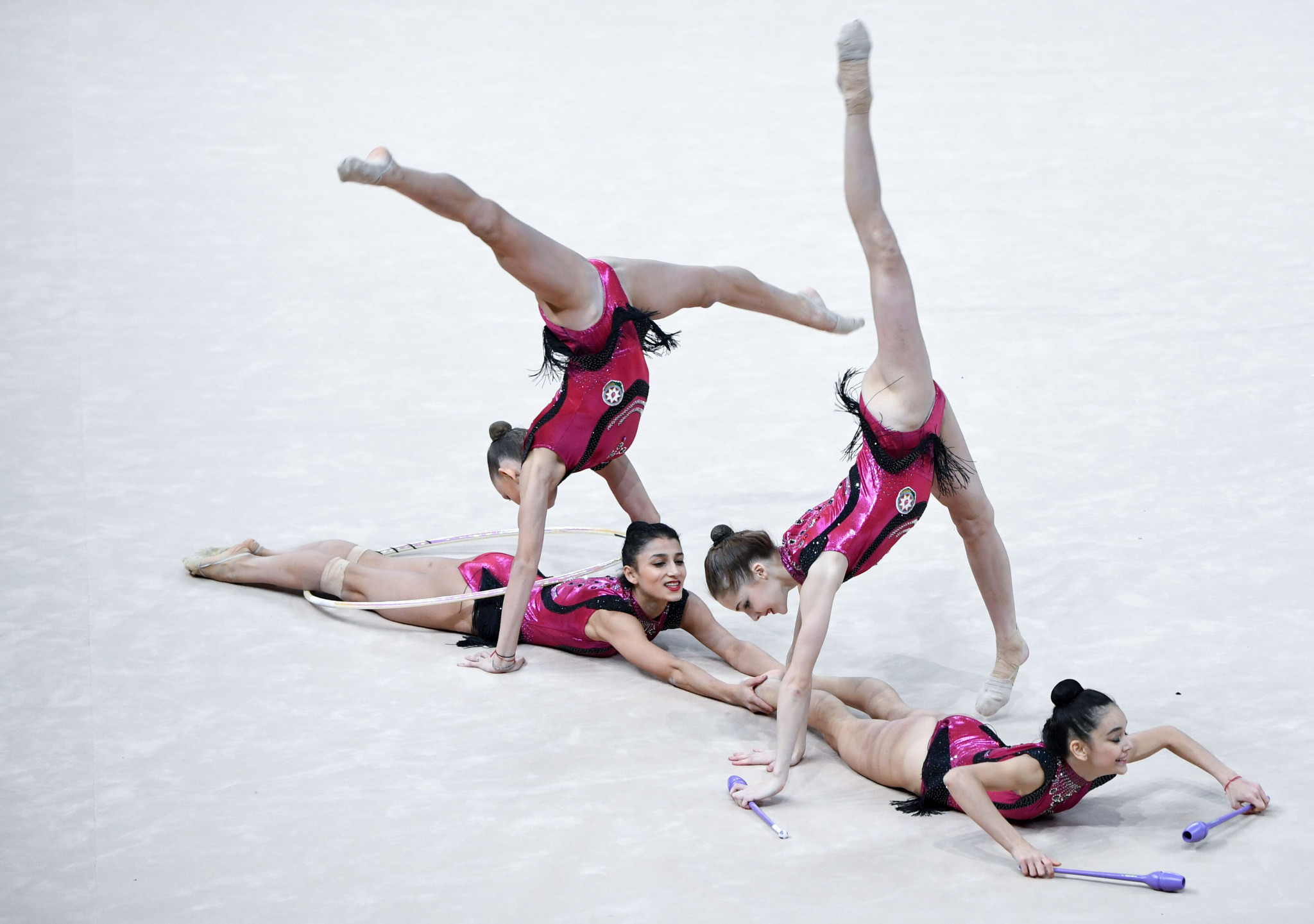 Budapest last staged the European Rhythmic Gymnastics Championships in 2017 ©Getty Images