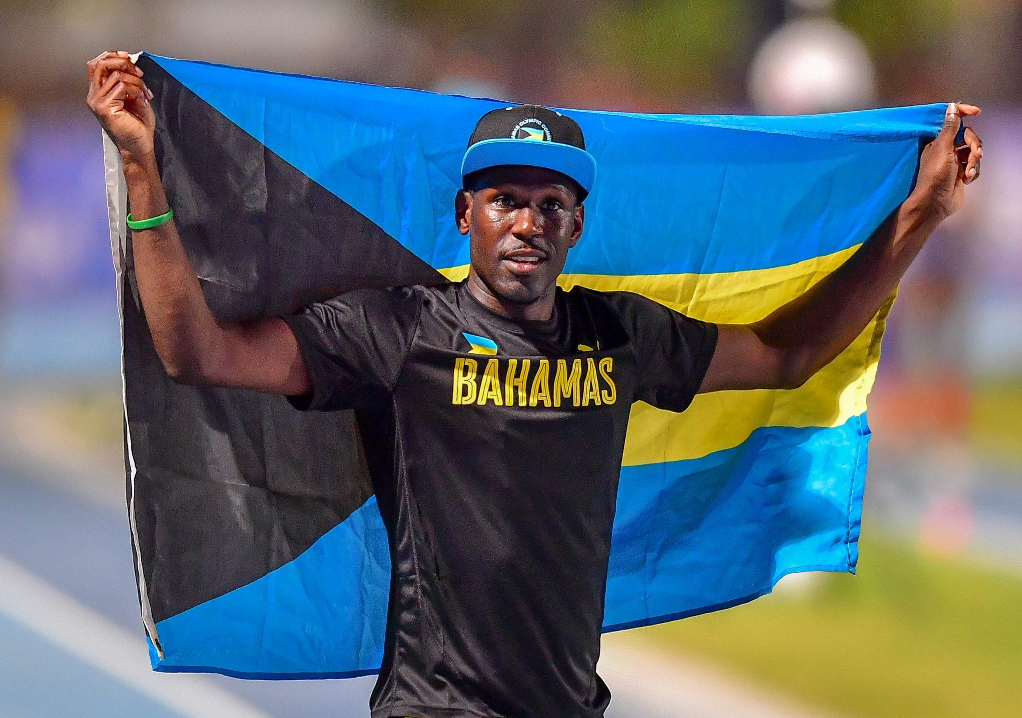 Donald Thomas of the Bahamas is considered a favourite for the men's contest in Banská Bystrica ©Getty Images