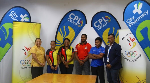 CPL Group provide sponsorship for Papua New Guinea Olympic hopefuls