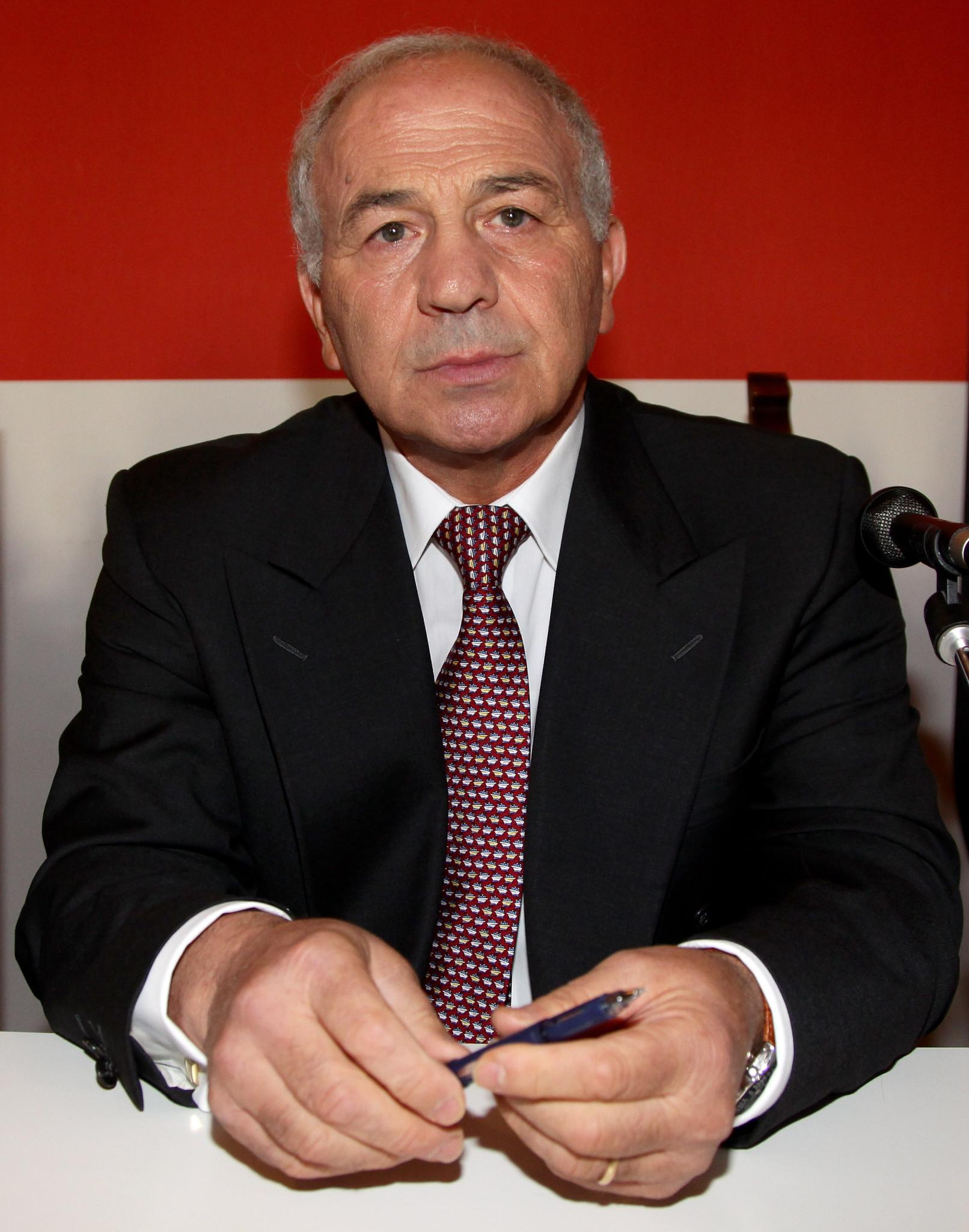 EUBC President Franco Falcinelli said he was