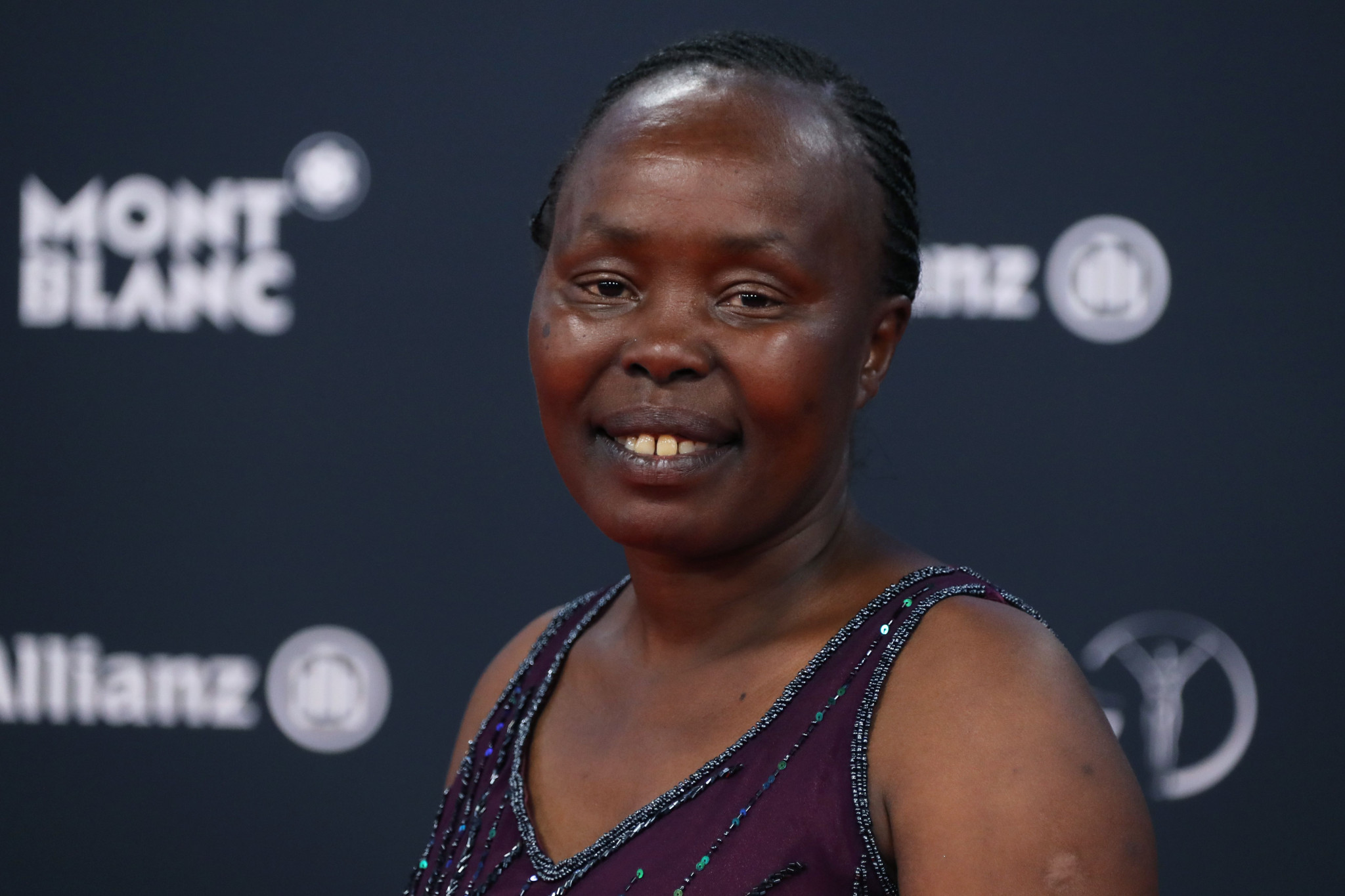Former marathon world record holder Tegla Loroupe has been working to build sporting facilities in Kenya ©Getty Images