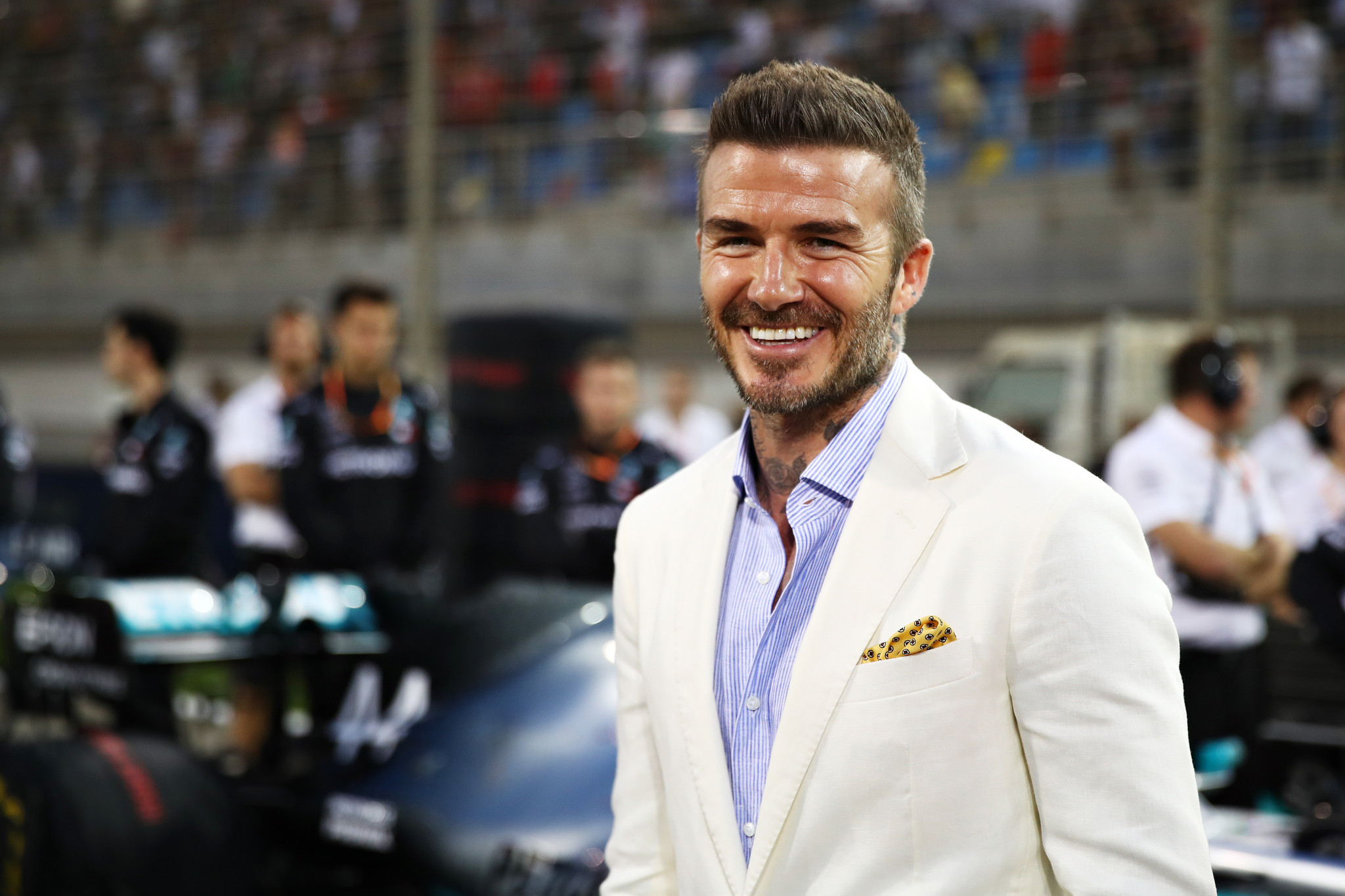 David Beckham is the co-owner of Guild Esports ©Getty Images