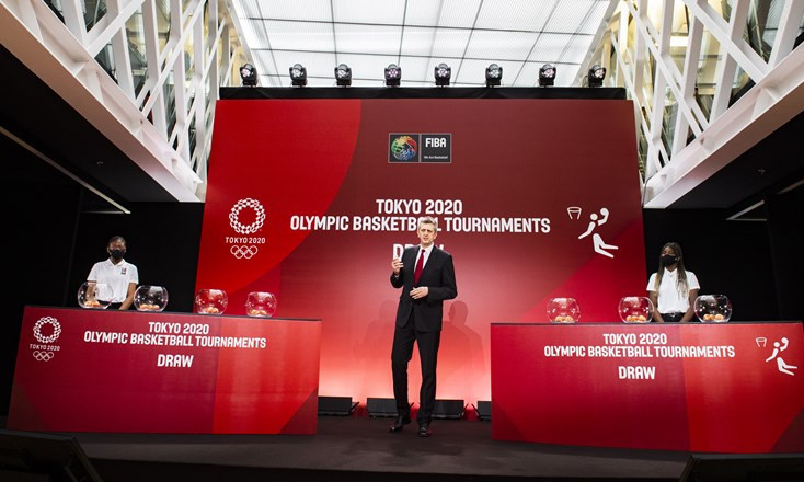 Groups confirmed for Olympic basketball tournaments at Tokyo 2020