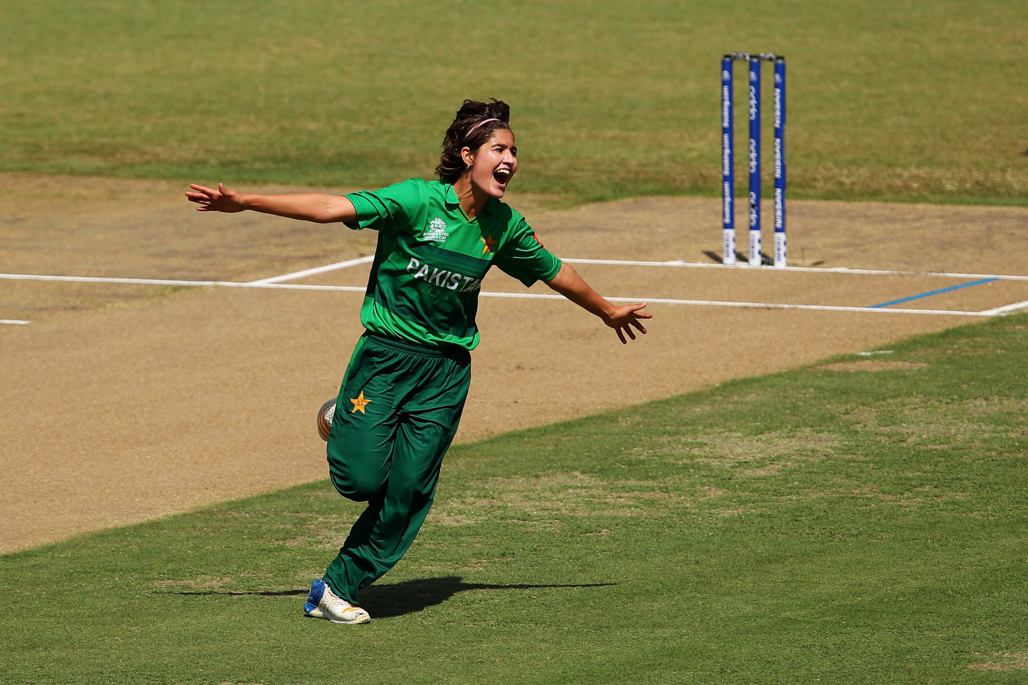 Pakistan's Diana Baig is in the running to win the ICC Women's Player of the Month for January ©Getty Images