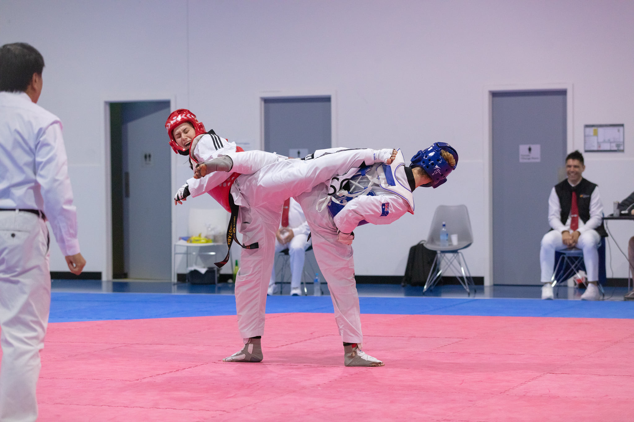 Australian Taekwondo hold national training camp as Combat Institute comes into force