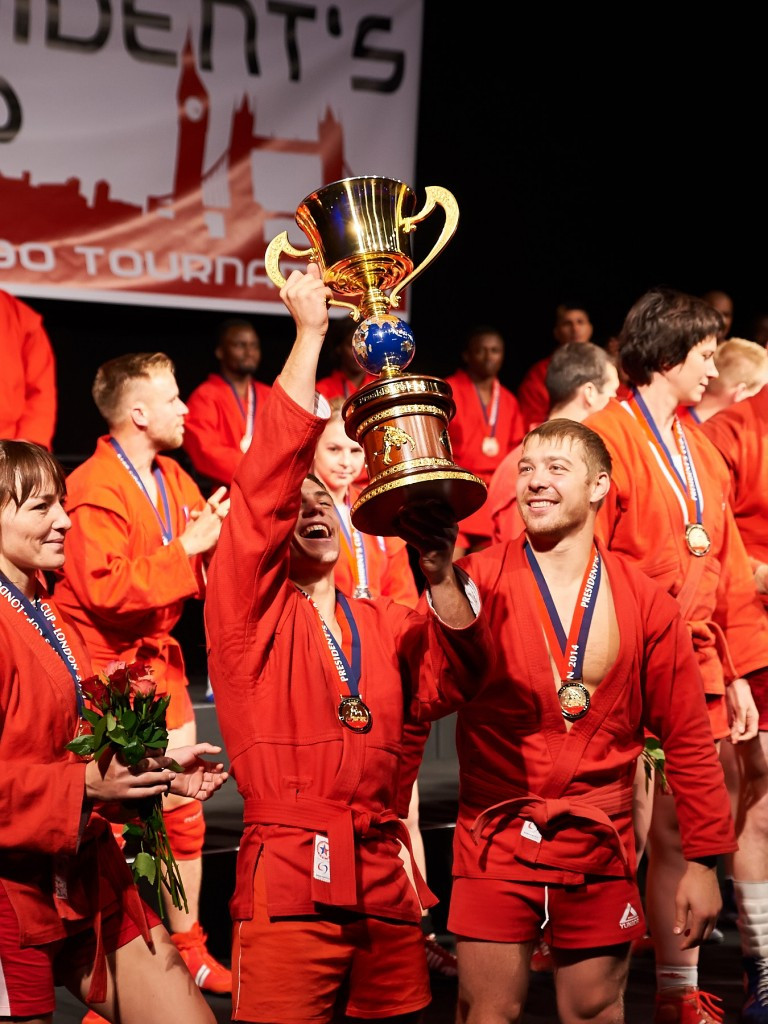 Holders Russia headline eight-strong field for sambo President's Cup