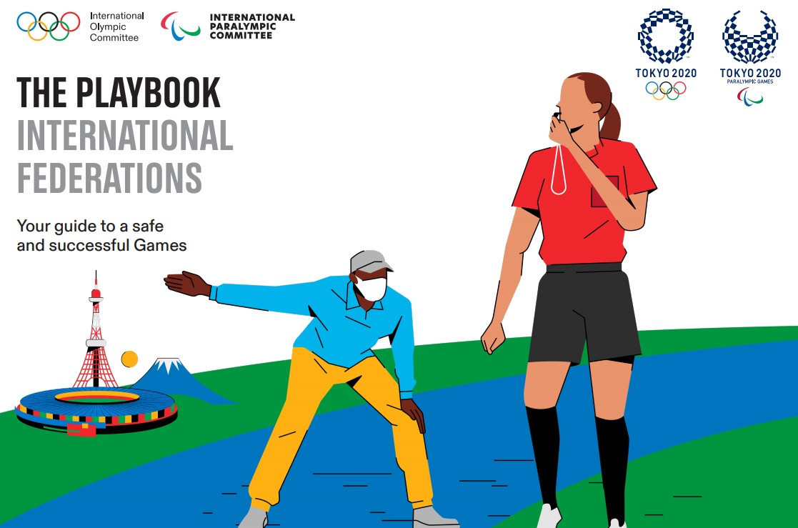 """The first Tokyo 2020 """"playbook"""" has been published ©Tokyo 2020"""