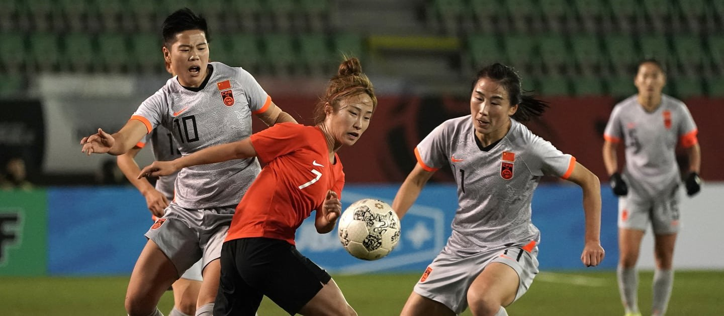 Women's Olympic football playoff between China and South Korea postponed for fourth time