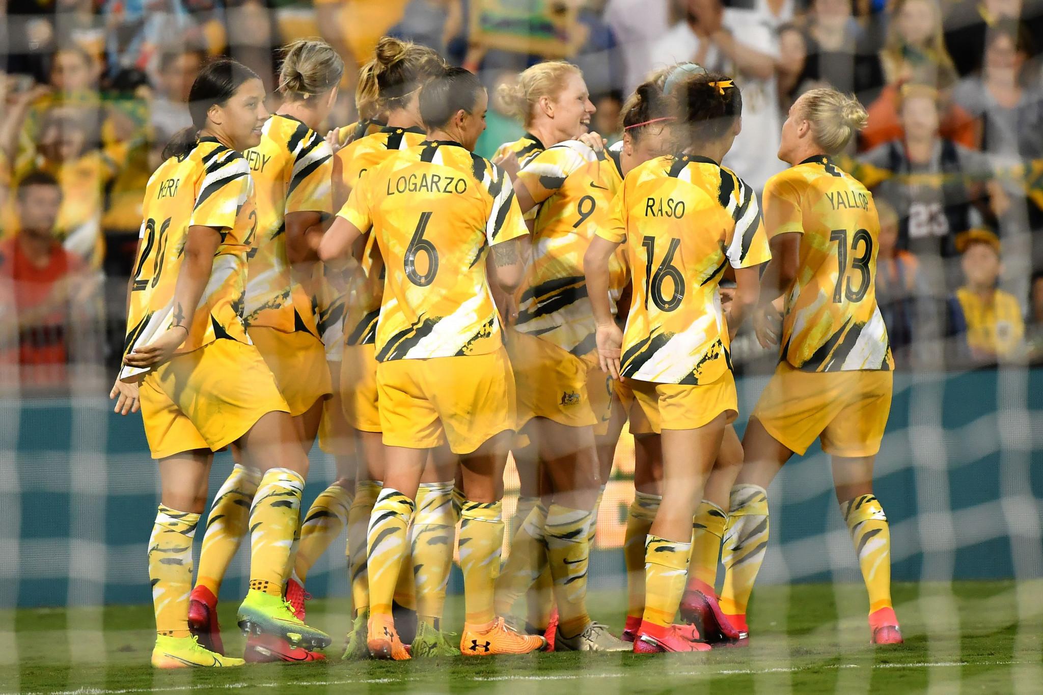 호주는 지난해 베트남을 제치고 2020 도쿄 여자 올림픽 축구 선수권 대회에서 아시아 2 곳 중 하나를 차지했다. © Getty Images
