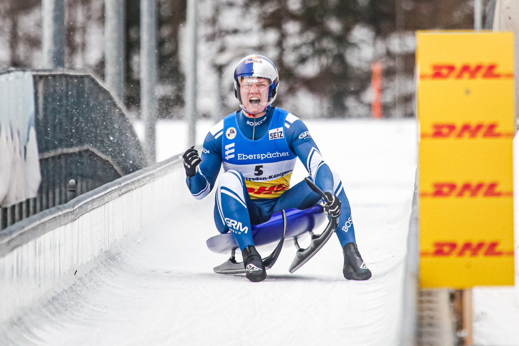 Roman Repilov successfully defended his FIL World Championship title in Königssee on under the new conditions imposed by WADA for Russian athletes ©Getty Images
