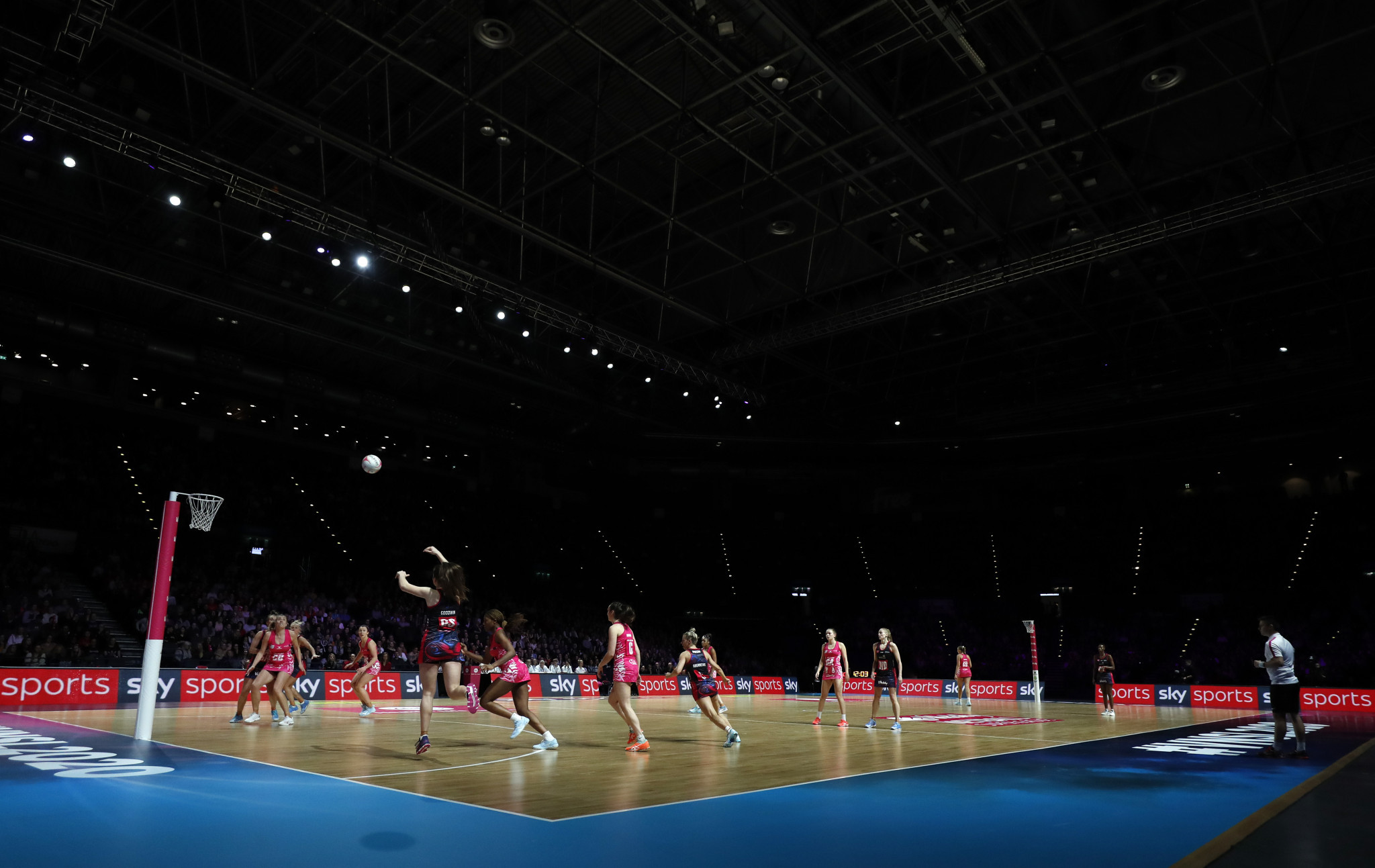 This year's Vitality Superleague will be played in Wakefield and London behind closed doors and broadcast on Sky Sports ©Getty Images