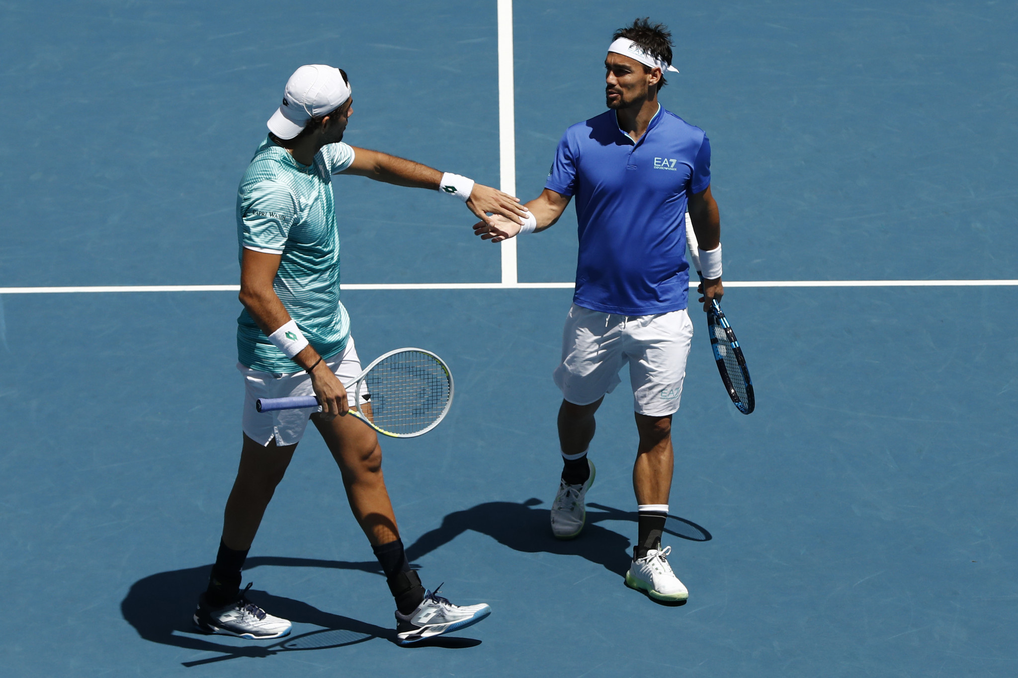 Italy and Russia progress to semi-finals of ATP Cup