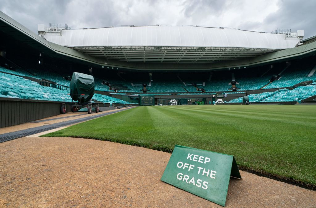 Wimbledon was among the dozens of sports events to have been cancelled in 2020 because of the coronavirus pandemic ©Getty Images