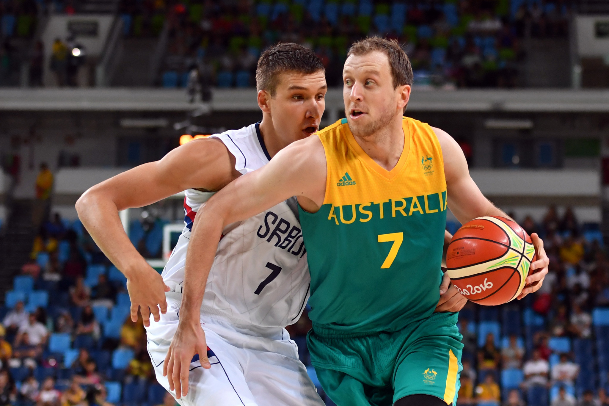 Joe Ingles is on track to represent Australia at his fourth Olympic Games at Tokyo 2020 ©Getty Images