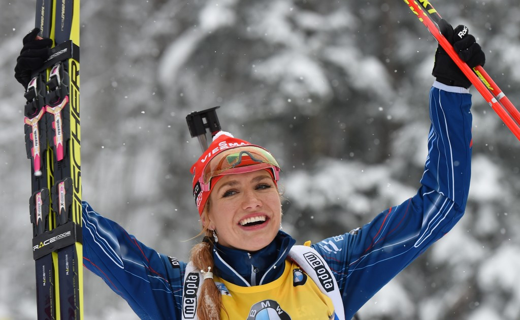 Soukalova shoots clean to claim 10th IBU World Cup victory