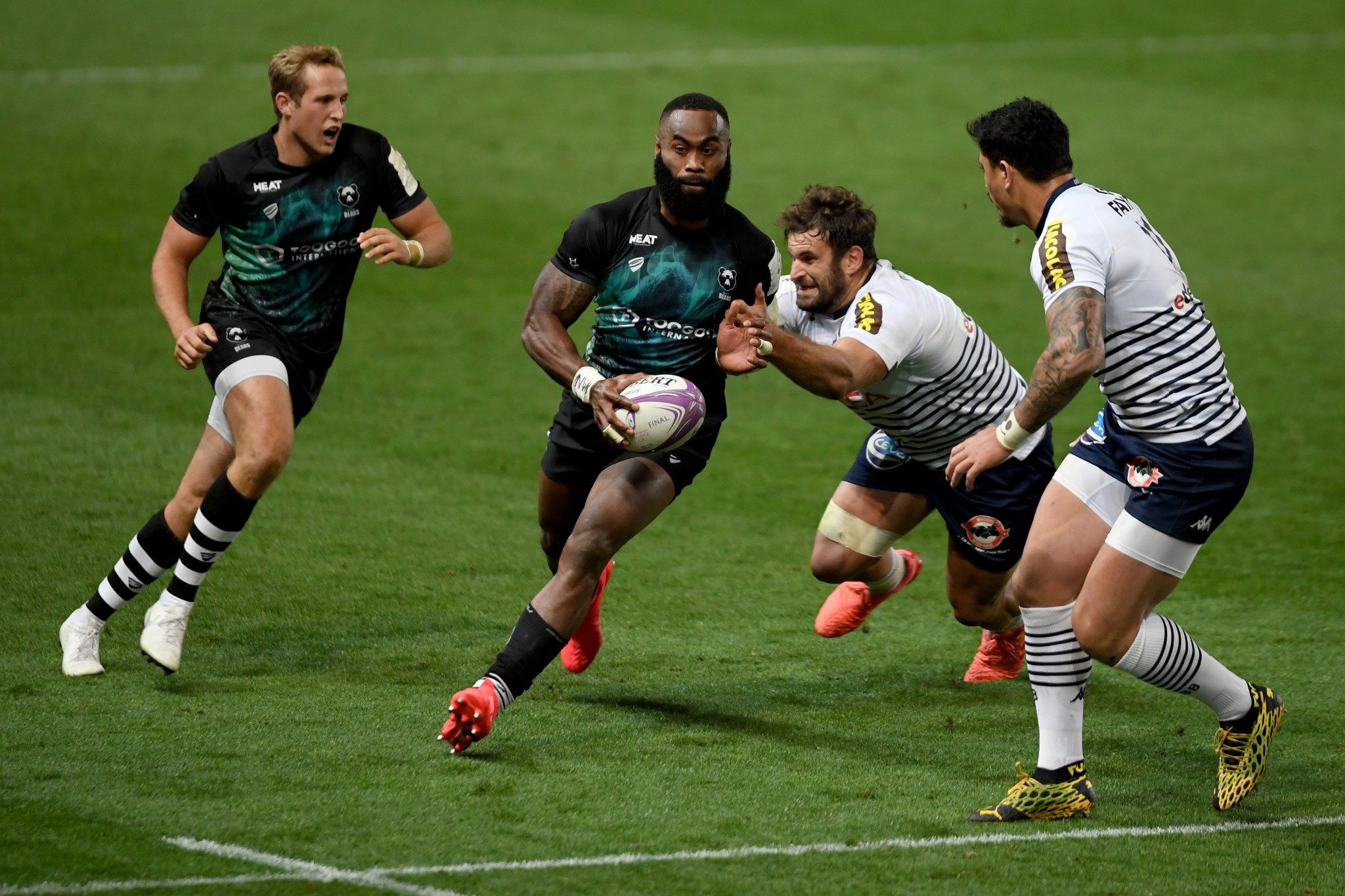 Bristol Bears star Semi Radradra has proven to be hard to stop in the Gallagher Premiership ©Getty Images