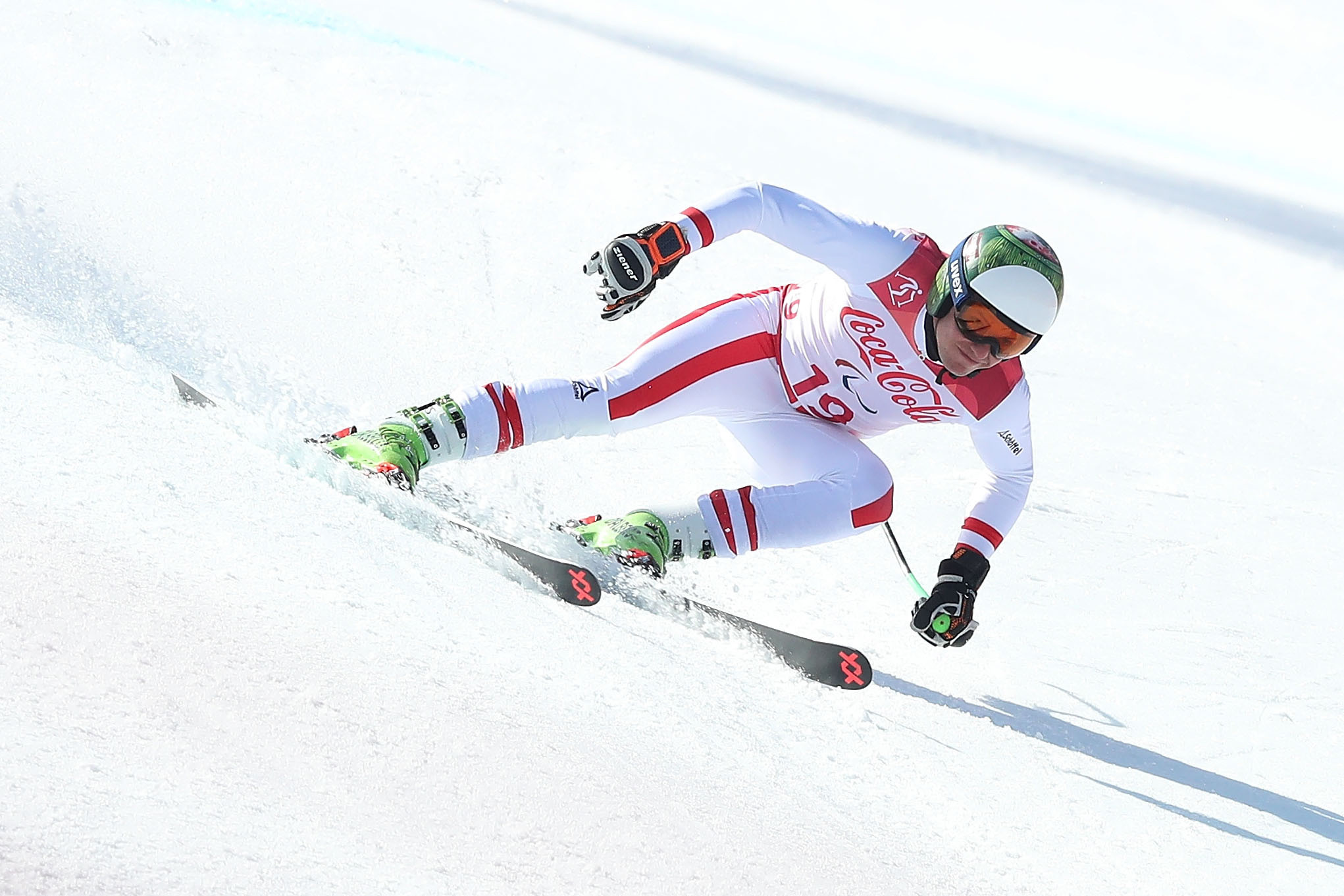 Salcher back to winning ways with downhill gold at World Alpine Skiing World Cup