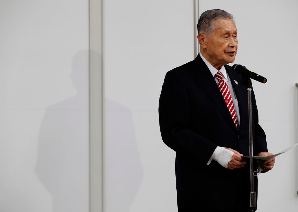 The Tokyo 2020 Organising Committee President said he was deeply sorry for the offence he had caused