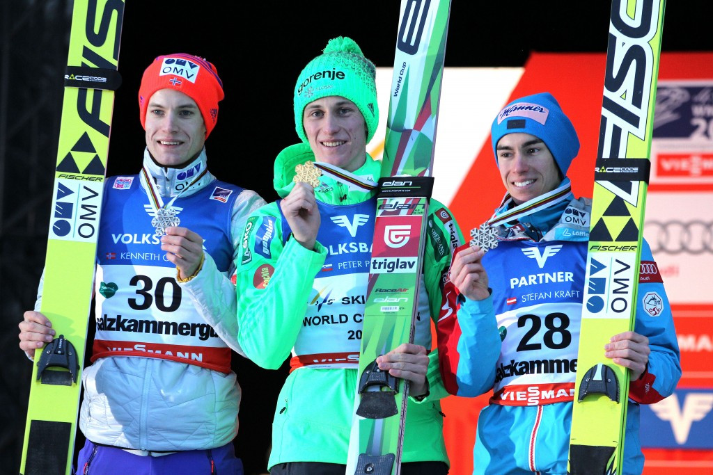 Hill record jump gives Prevc maiden Ski Flying World Championship title