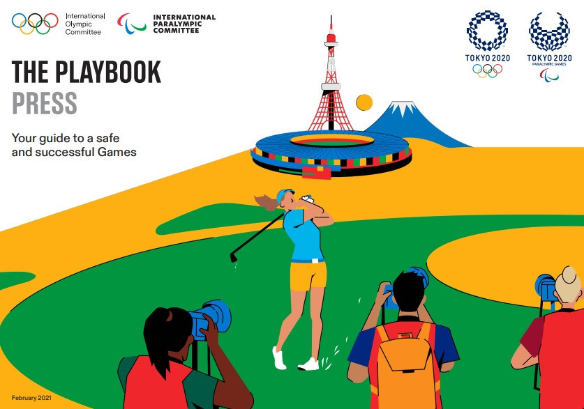 "The Tokyo 2020 ""playbook"" for the press has been published ahead of schedule ©Tokyo 2020"