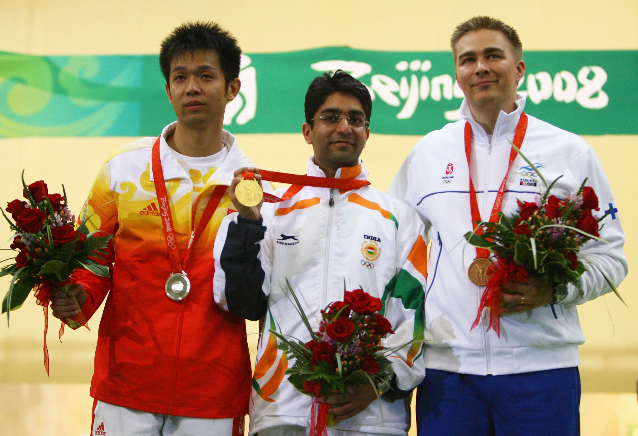Abhinav Bindra is the only individual champion in India's Olympic history ©Getty Images