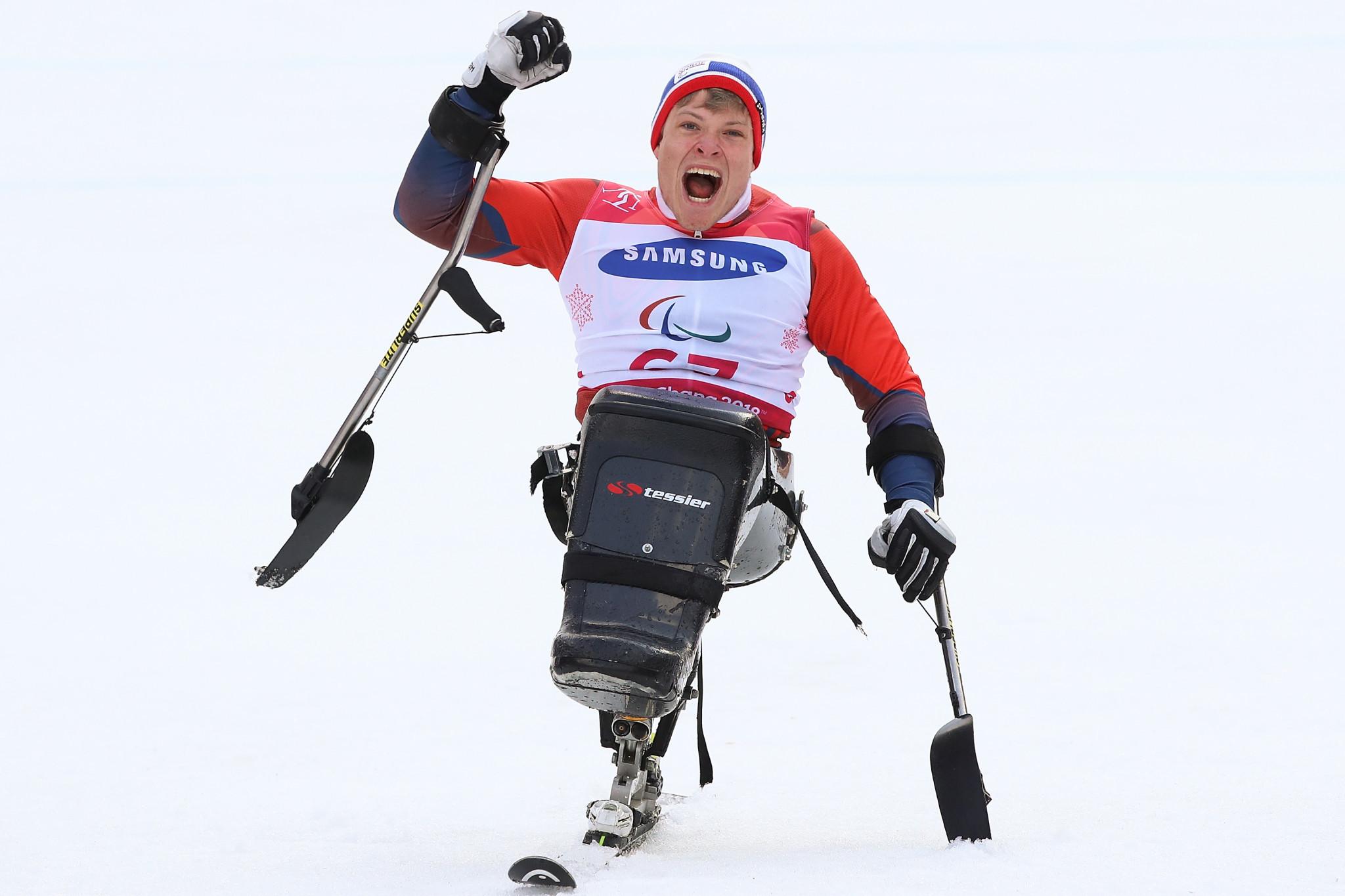 Norway's Jesper Pedersen won the second giant slalom men sitting race in Austria ©Getty Images