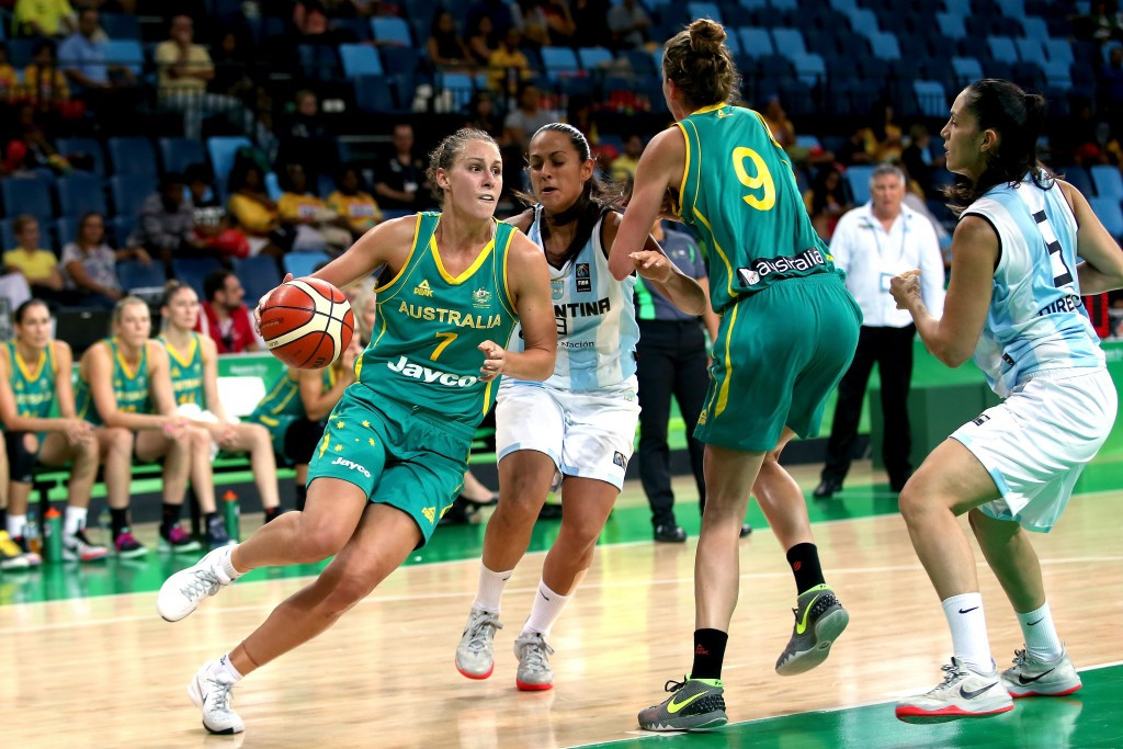 Australia ease to victory at Rio 2016 basketball test event