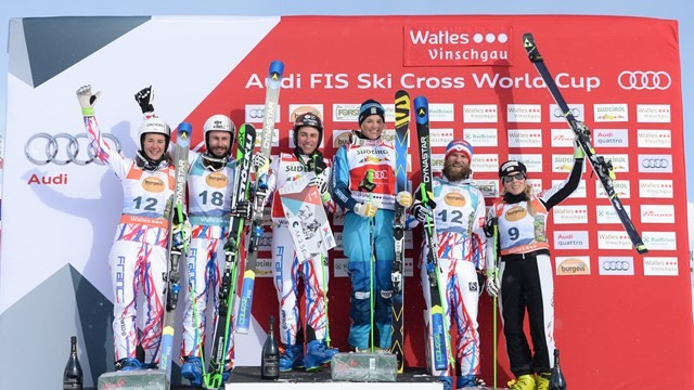 Chapuis leads home French clean sweep at Ski Cross World Cup in Watles