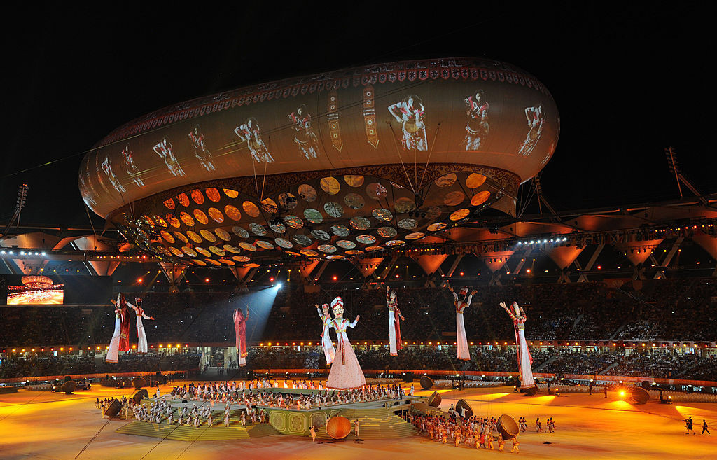 New Delhi hosted the 2010 Commonwealth Games, but India has not yet staged the Olympics ©Getty Images