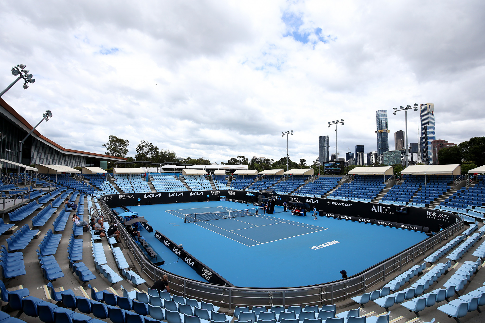 Players return negative COVID-19 tests as Australian Open draw revealed