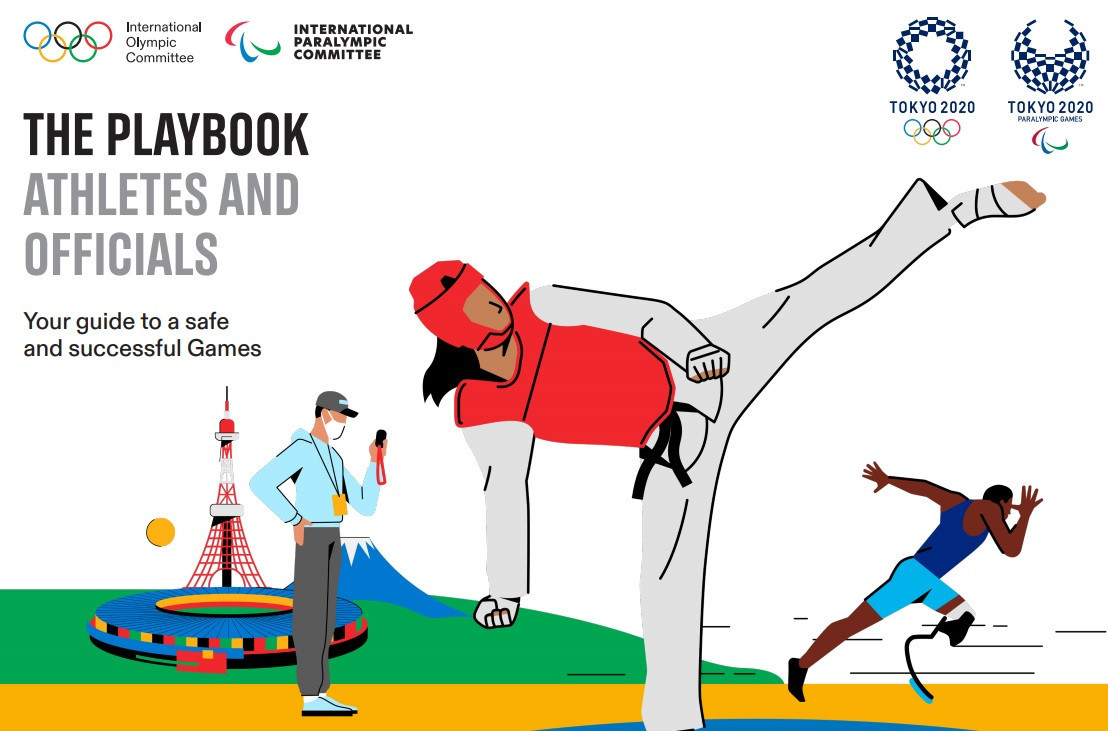 Rules on COVID-19 testing form a key part of the athletes playbook released by the IOC, IPC and Tokyo 2020 ©Tokyo 2020
