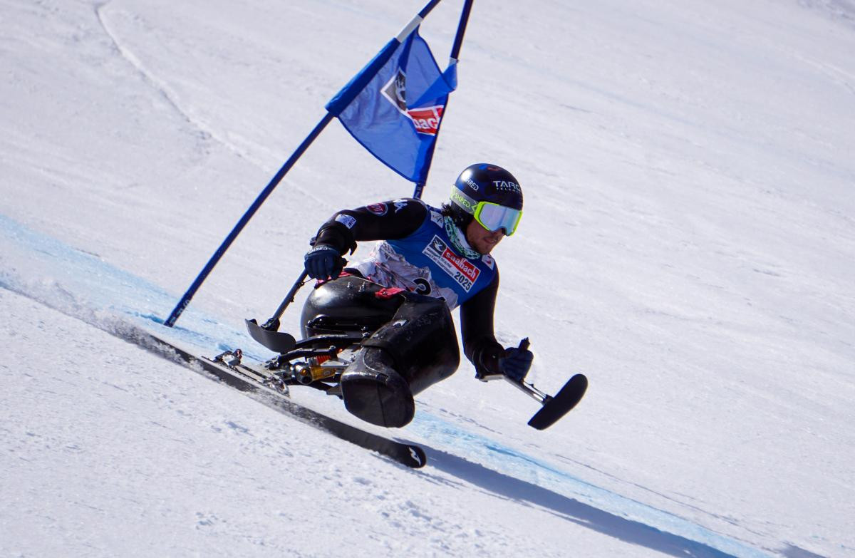 De Silvestro celebrates first Super-G win at World Para Alpine Skiing World Cup