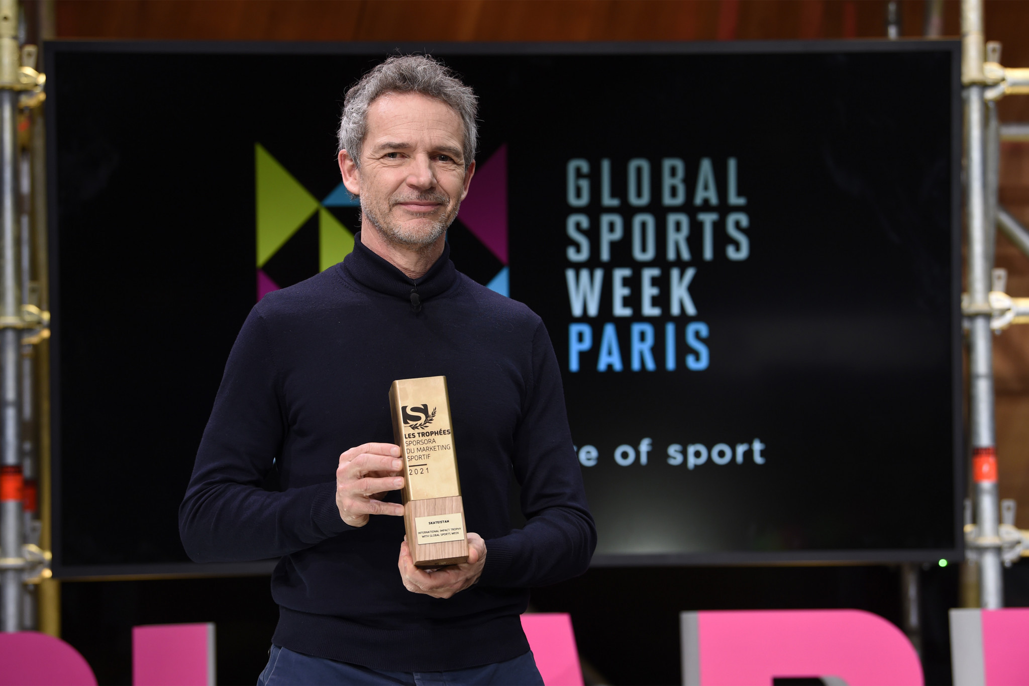"""Lucien Boyer, président et co-fondateur de la Semaine mondiale du sport, a déclaré que la deuxième édition de cette année avait vu """"Une révolution qui se passe dans le monde du sport"""" © GSW"""