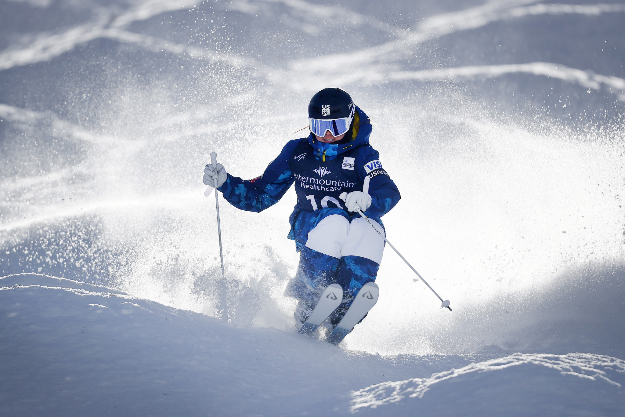 Kingsbury and 16-year-old Owens win dual moguls at Deer Valley World Cup