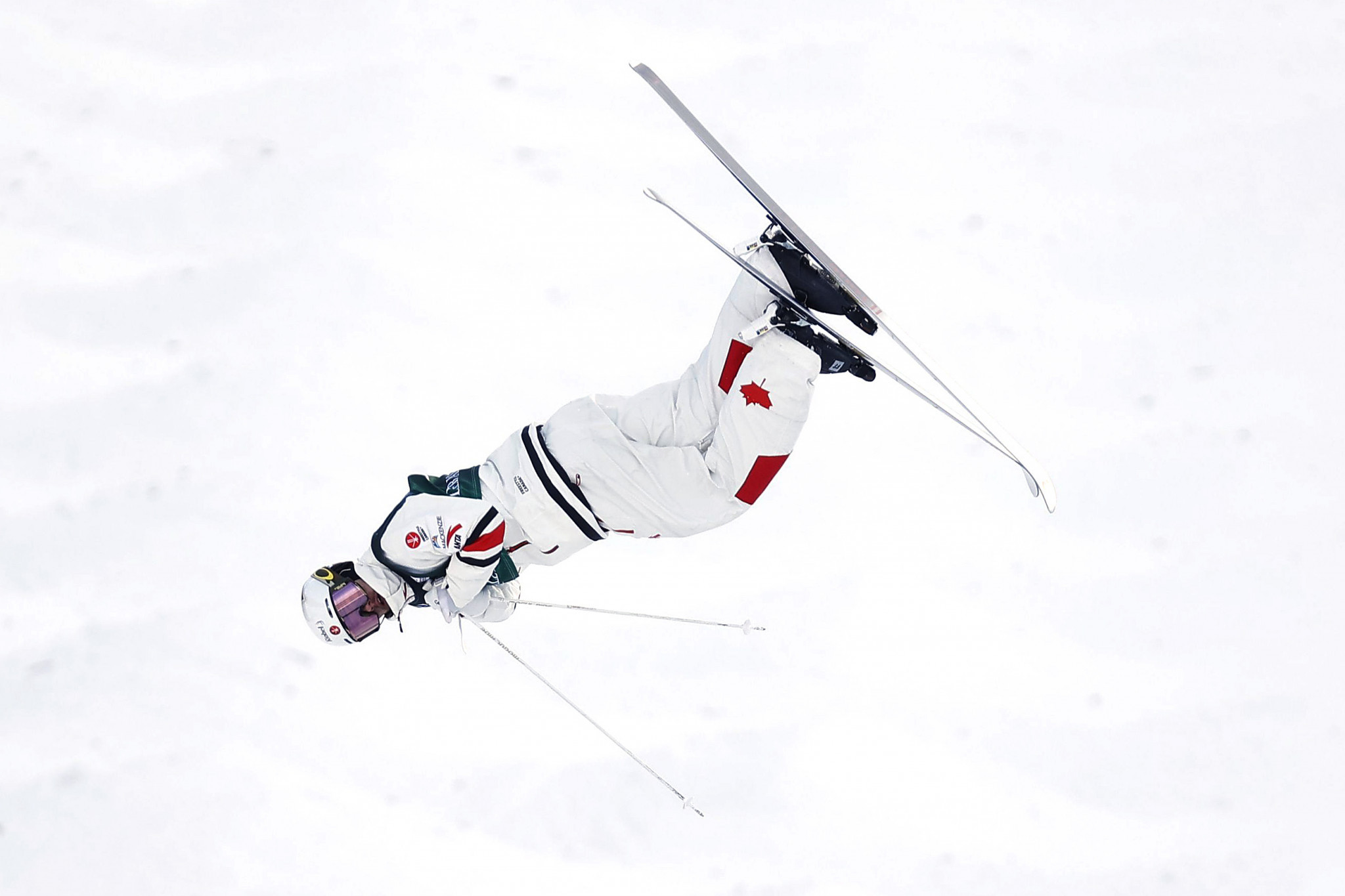 Mikaël Kingsbury did the moguls and dual moguls double in Deer Valley ©Getty Images
