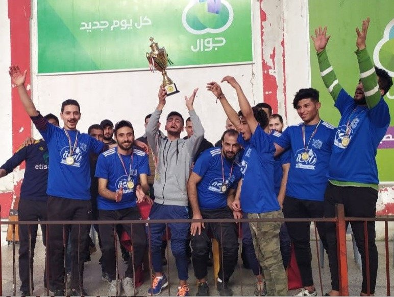 Palestine Baseball5 Cup staged on Gaza Strip