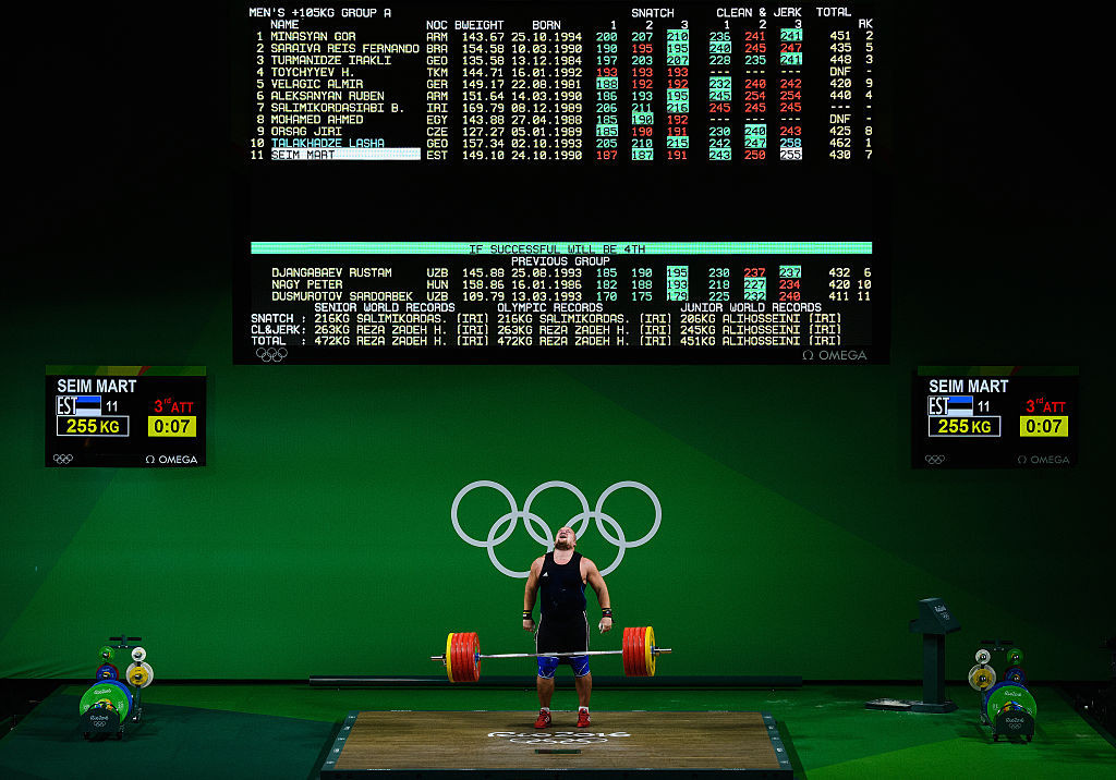 The problems at the IWF have threatened weightlifting's place on the Olympic programme ©Getty Images