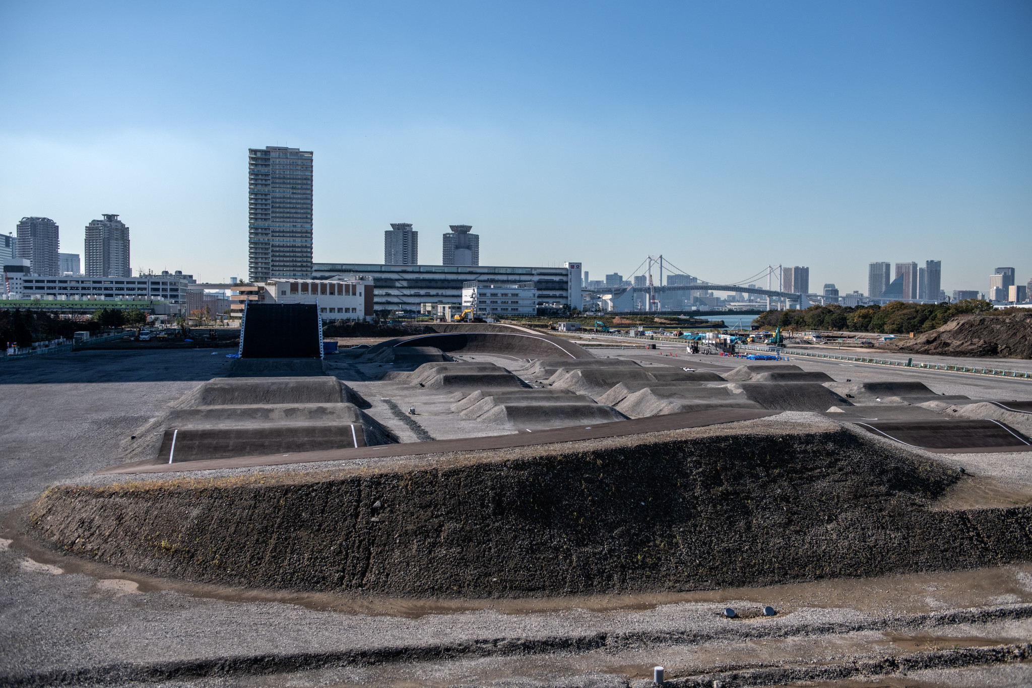 The Ariake Urban Sports Park will host BMX racing and freestyle events ©Getty Images