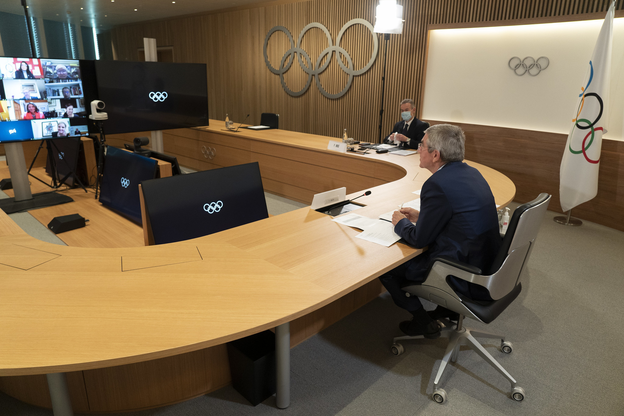 The IOC Executive Board has repeatedly criticised the IWF in recent months ©IOC