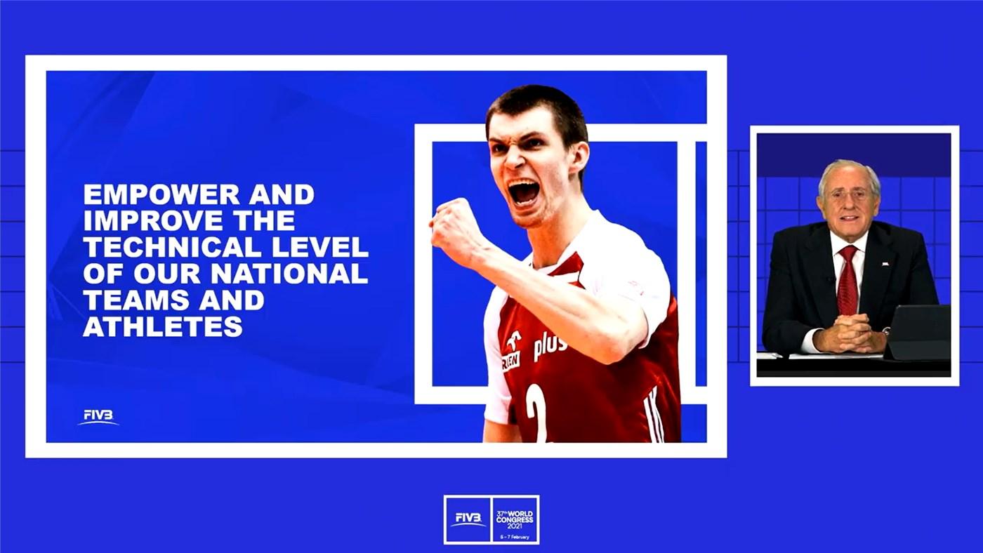 A FIVB confirmou planos para um projeto de capacitação do voleibol © FIVB