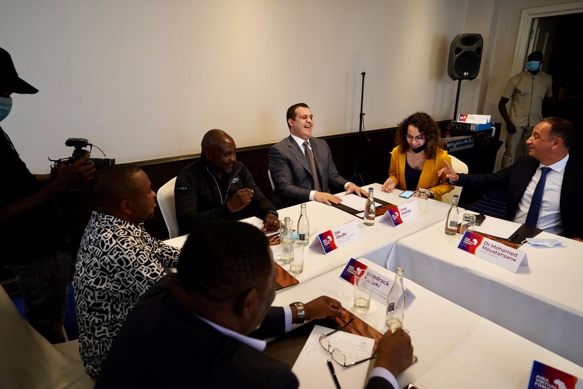 AIBA President Kremlev discusses plans for international boxing academy on visit to Kenya