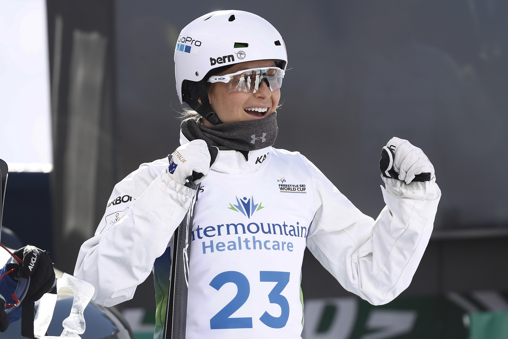Australia's Danielle Scott marked her return to FIS Aerials World Cup action with a win in Deer Valley ©Getty Images