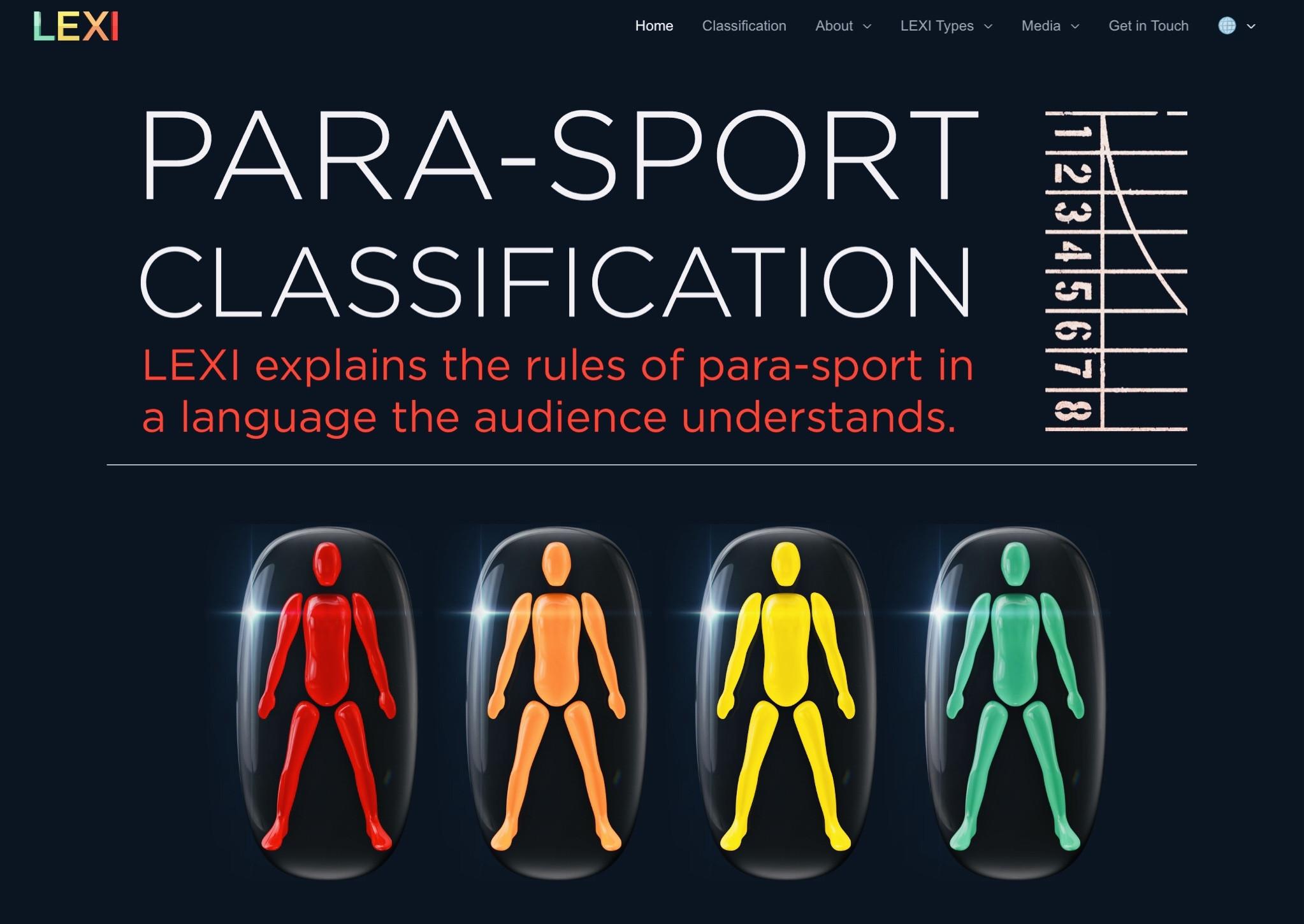 New website created for Paralympic classification tool LEXI