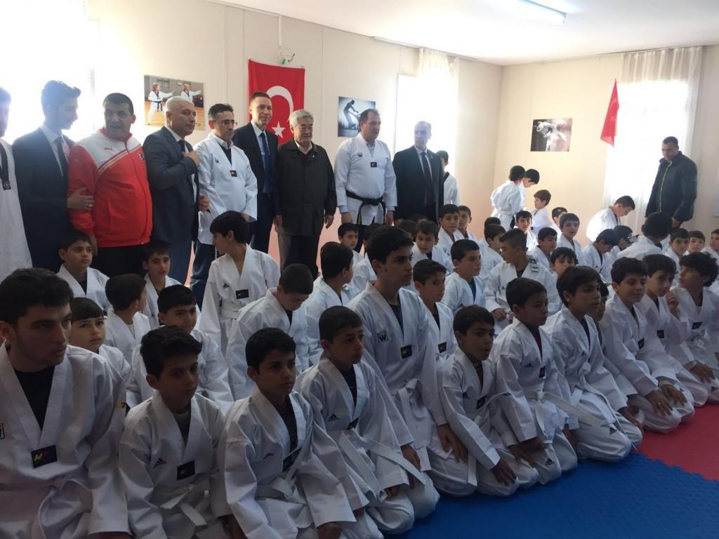 WTF extends Taekwondo Humanitarian Foundation to Turkey