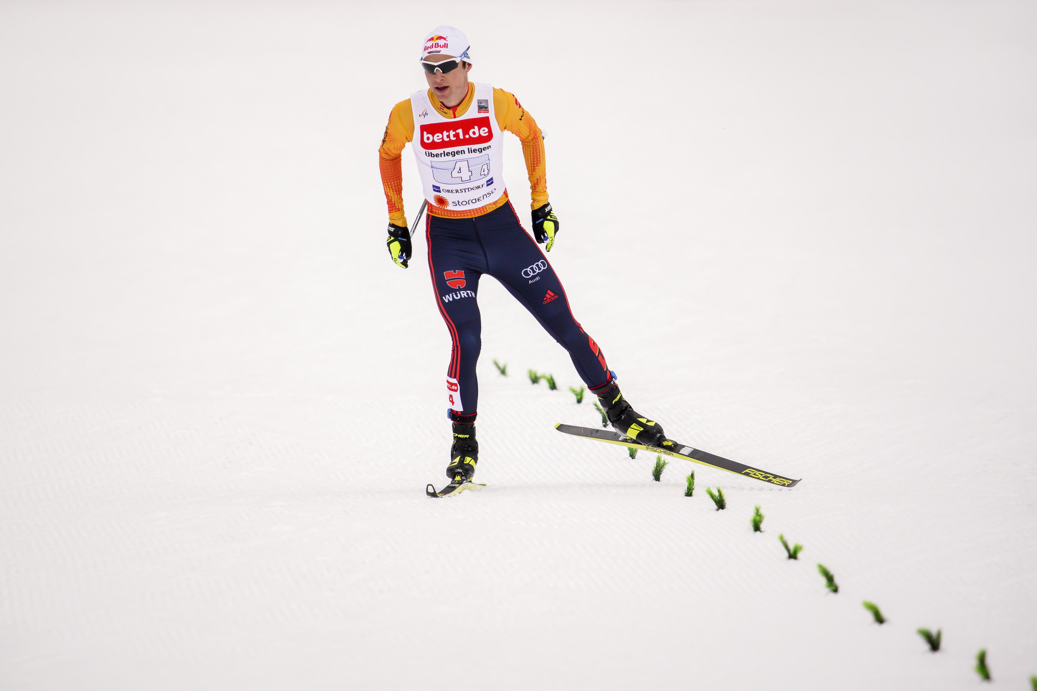 Geiger earns second successive victory at FIS Nordic Combined World Cup