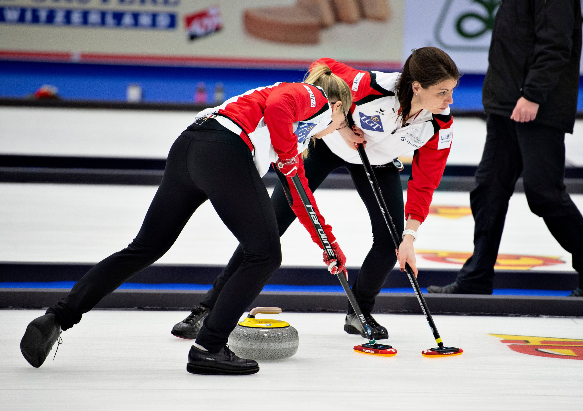 Switzerland are the reigning women's curling world champions ©Getty Images