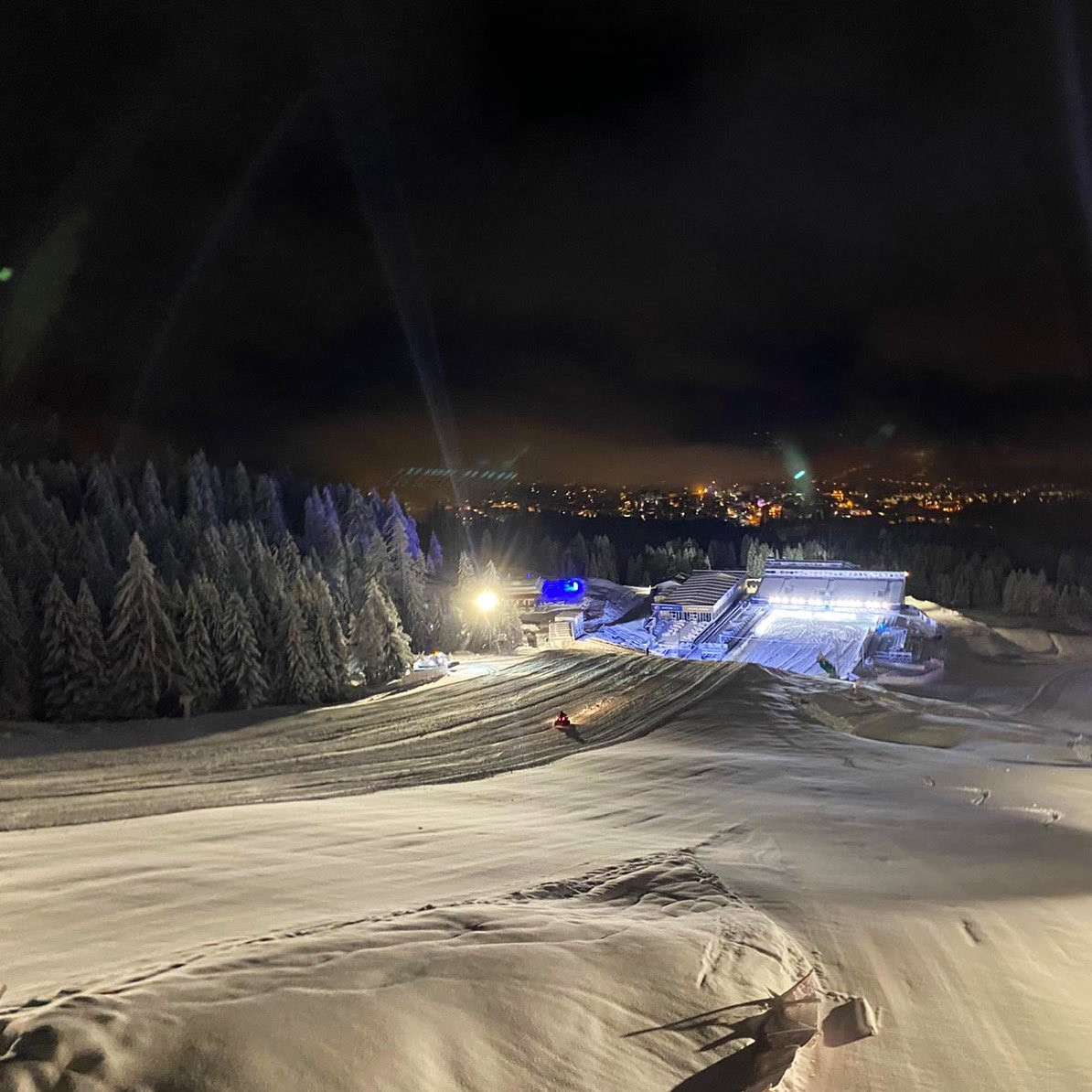 Action on first day of Alpine World Ski Championships postponed due to heavy snow